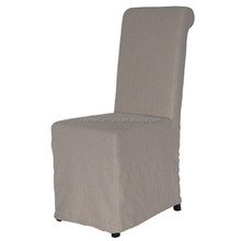 Cheap fabric restaurant dining chair cafe chair with removable cover
