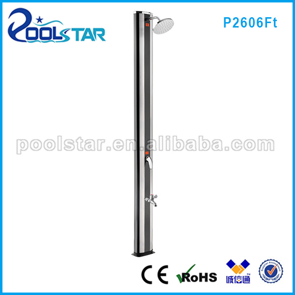 Aluminum Solar Heating Shower with Foot Shower 40L (P2606)