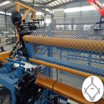 high quality 380V fully-automatic chain link fence machine for Australian market