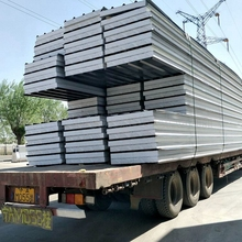 Mgo EPS sandwich panel with good chemical resistant to phramaceutical building with SIP installation