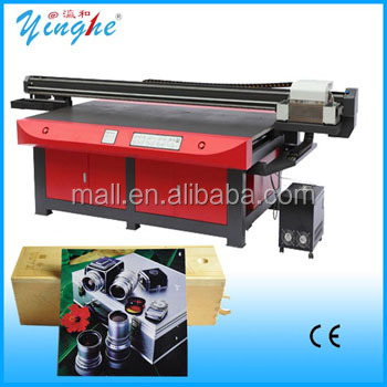 YHUV-2030 digital flatbed uv metal printing machine / large format alluminium uv printer
