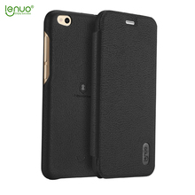 Lenuo soft PU leather flip cover for xiaomi 5c mobile phone case