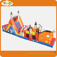 Giant obstacle course game,inflatable obstacle course_rocket obstacle course