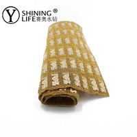 rhinestone sheet for shoes accessory