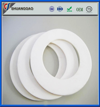 high wear resistant plastic PTFE teflon material flat washer