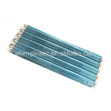 Air conditioner cooling coil for beer machine