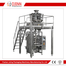 Automatic potato chips weighing packing machine