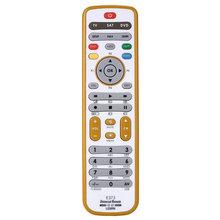 DT-E373 Factory manufacture 3 in 1 universal remote control with IR learning for TV/SAT/DVD