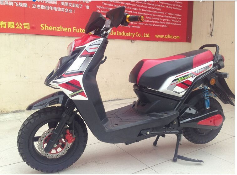 Gas Powered 125cc Displacement Motorbike from China
