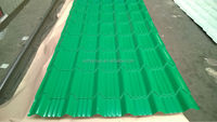 ISO certificated high rib corrugated roof sheet price