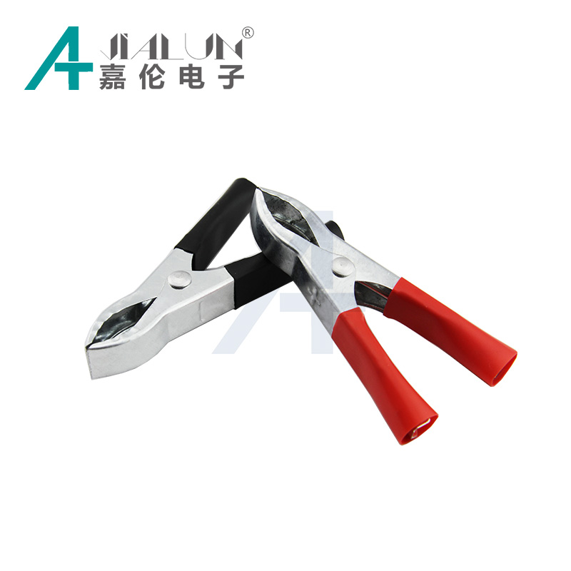 JIALUN Battery Clips 73mm Crocodile Alligator Test Clamps