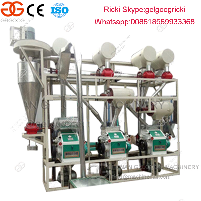 Full Automatic Maize Flour Processing Equipment Maize Flour Processing Line Maize Flour Mill Plant