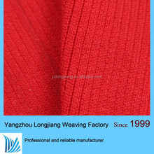 new fashion ottoman rib knit fabric with high quality from supplier