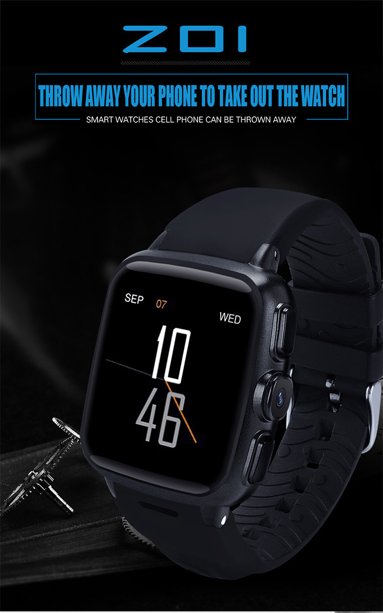 2017 IPS screen 3G wcdma android watch smart, HD camera GPS 5.1 android smart watch, bluetooth 4.0 gsm smart watch sim