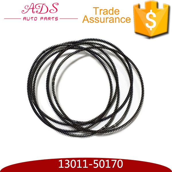 standard chromium coated auto engine piston ring set for TOYOTA CROWN LEXUS GS300/430 OEM:13011-50170