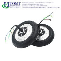 "2016 HTOMT 6.5"" 8"" 10"" Spare Parts for Electric Scooters Hoverboards electric motors for mobility scooter"