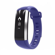 Heart Rate Heart Rate OLED silicone smart bracelet M2 With Bluetooth 4.0 Fitness Tracker Wristband
