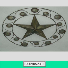 Wholesale Wrought Iron Star Hanging Wall Art
