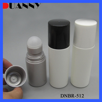 60ml 90ml Plastic Deodorant Cosmetic Roll on Bottle