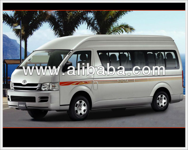 Toyota Hiace bus 2013, 2014 model