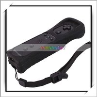 Wholesale! Black 2 in 1 For Wii Remote Controller Built- in Motion Plus -V00594