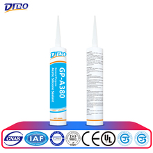 Acetic Glazing Sealing Gum Silicone Adhesive