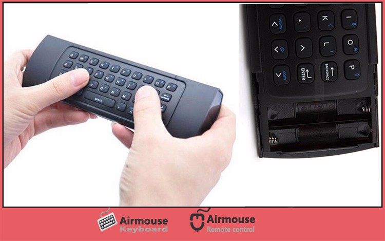 2.4G Wireless Mini Keyboard MX3 3D Fly Air Mouse Handheld IR Remote Control for Mini Tablet PC/Andriod