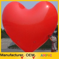hot sale inflatable balloon/self inflating balloons heart/valentine's day self inflating helium balloons
