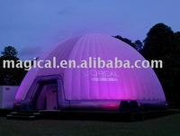 good quality inflatable LED party event dome