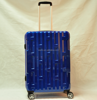 Fancy abs+pc hardshell luggage and suitcase set