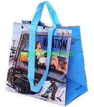 Beautiful trend of mobile shopping bags