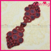 China manufacture fashion chinese knot cloth buttons