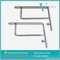 Wardrobe High ending clothing hanging stand belt support metal wall shelf bracket