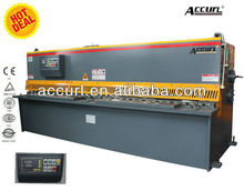 INT'L Accurl Brand QC11Y hydraulic sears wholesale, guilotine, back gauge system