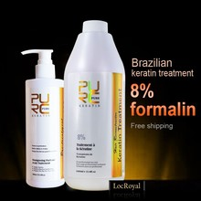 Brazilian keratin treatment for Strong Hair Style products and 300ml purifying shampoo