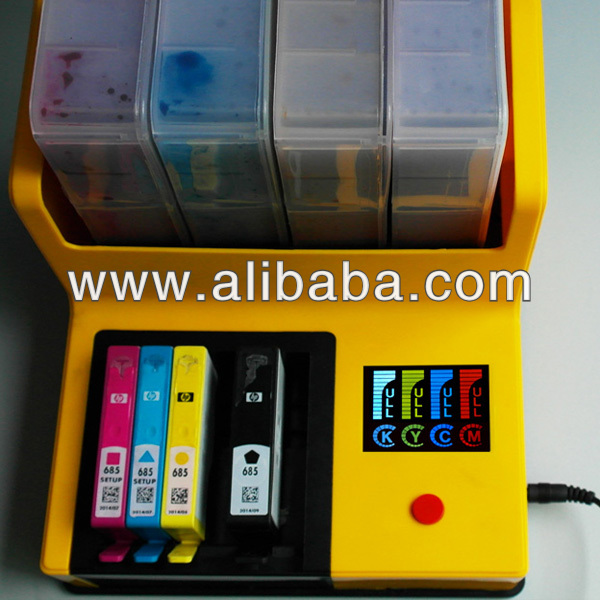 Auto Ink Refill Machine, Auto Ink Recharger hp ink 685 564 364 920 922, HP3070A 3525 4615 4625 5510 5520 B110a B210a 6000 6500a