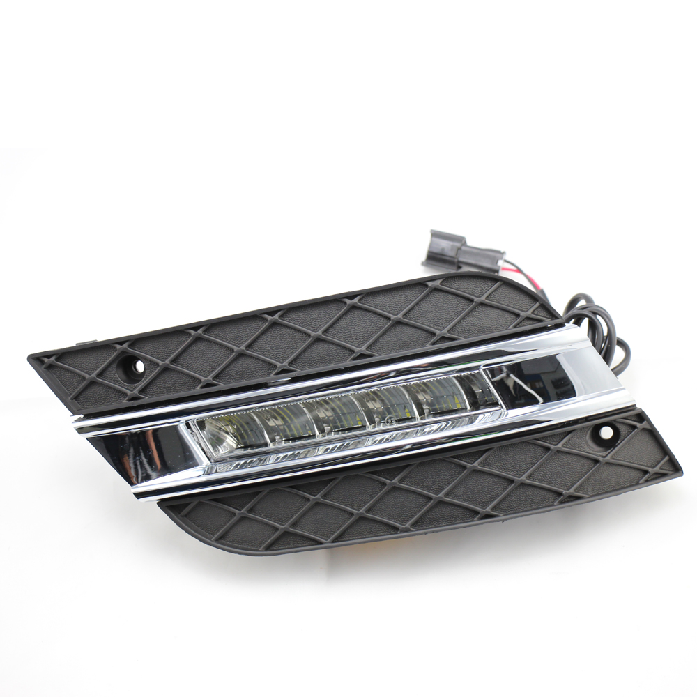 WINAUTO Factory Wholesale LED Daylights LED Daytime Running Lights <strong>For</strong> <strong>Benz</strong> ML Class <strong>W164</strong> 2010 - 2011
