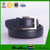 Popular fake designer belt with patent PU leather