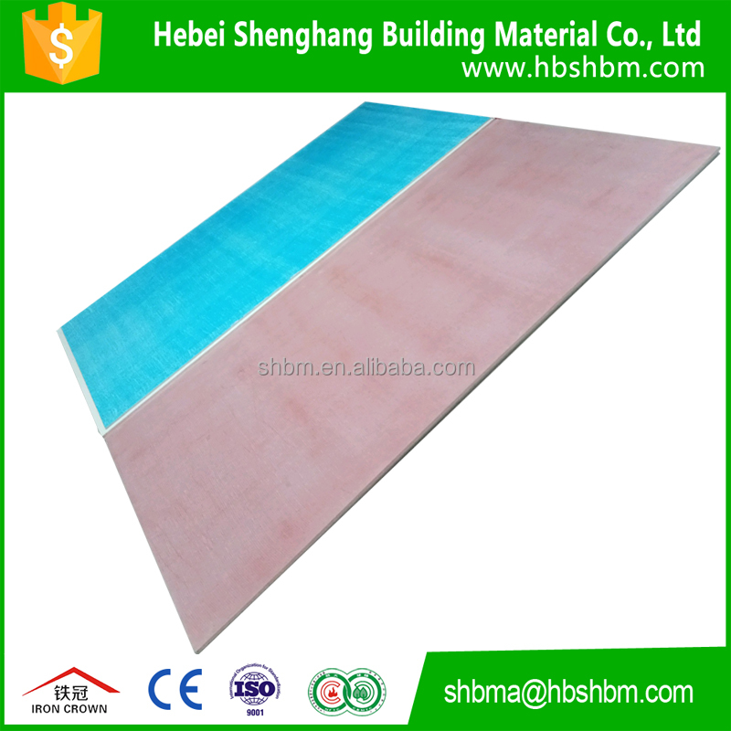 red green 8mm and 10mm magensium oxide board and fireproof mgo board