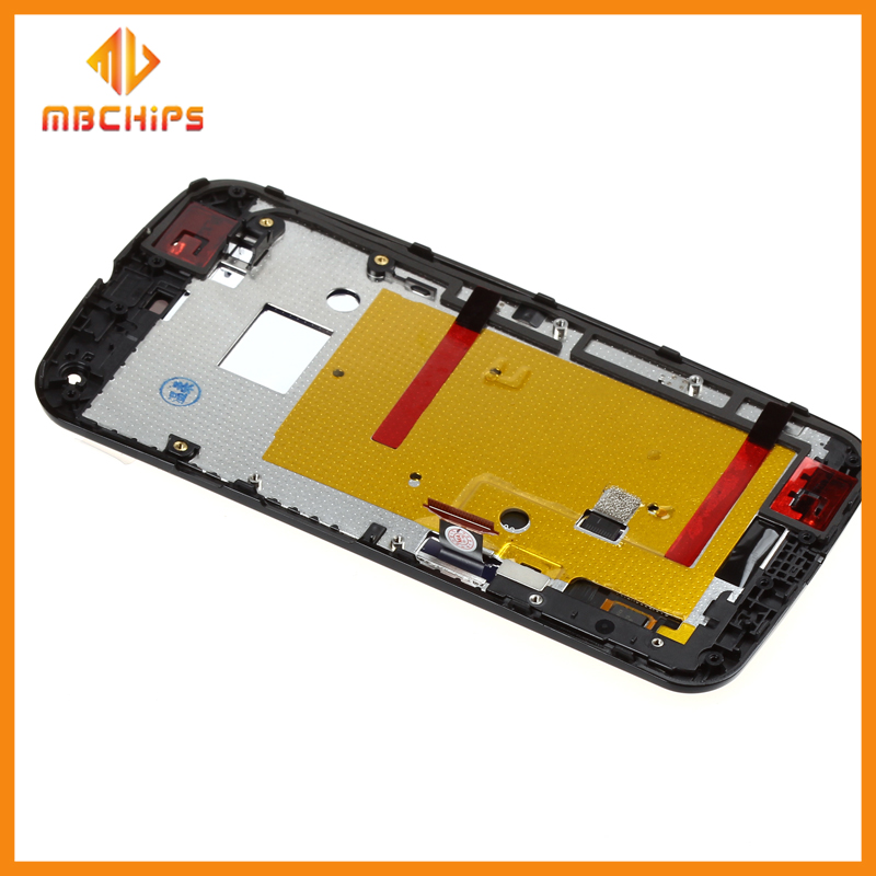 China wholesale cellphone touch screen lcd for motorola g2 spare parts for moto g2 lcd with frame for motorola g2 lcd screen