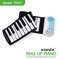 Easy Roll 37 Keys Roll Up Piano Educational Kids Toys Gifts For Piano Players Christmas Gift Virtual Keyboard Piano