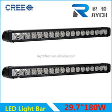 High Intersity C REE LED Bar Light 180w one Row Light Bar magnetic base Top Sales Price Off High Quality Ip68 Single Row bar