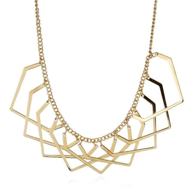 Женское массивное ожерелье lzhlq в богемном стиле колье чокер