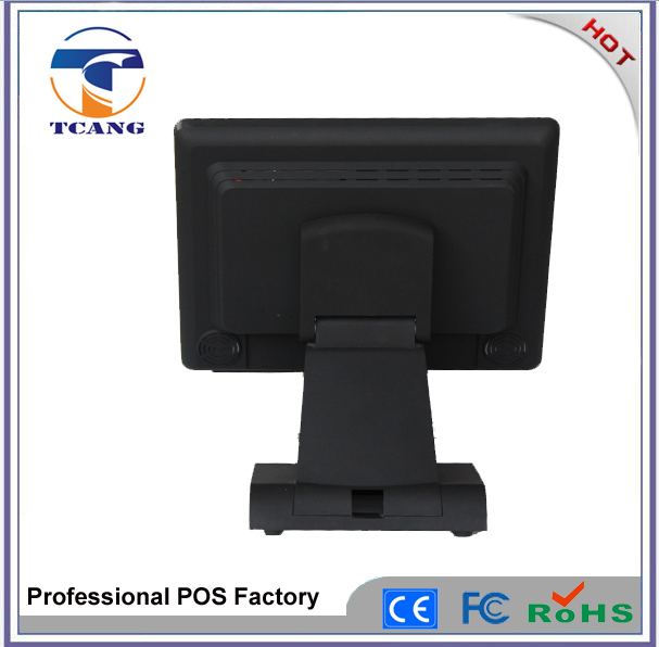 Christmas Promotion 15 inch USB Touch Screen Monitor for Vending Machine/POS Monitor