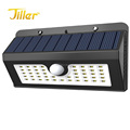 45led fashion design solar motion sensor light outdoor wall mounted solar wall led light