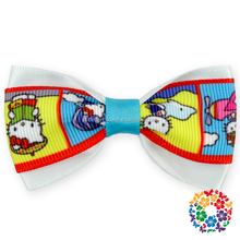 Wholesale Children Boutique Hair Accessories Grosgrain Ribbon Bows Alligator Baby Hair Bows Clips