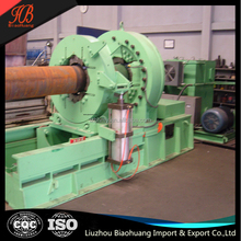 Hydraulic casing and tubing coupling make up & breakout machine