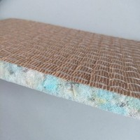 PU foam carpet underlay with stiched paper backing