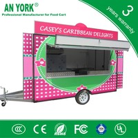 FV-55best van for sale food food cart in the philippines food trolley with wheels