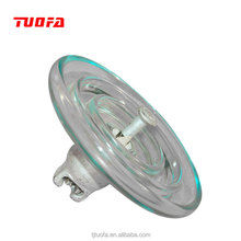 Clear round disc / toughened suspension glass Insulator U120